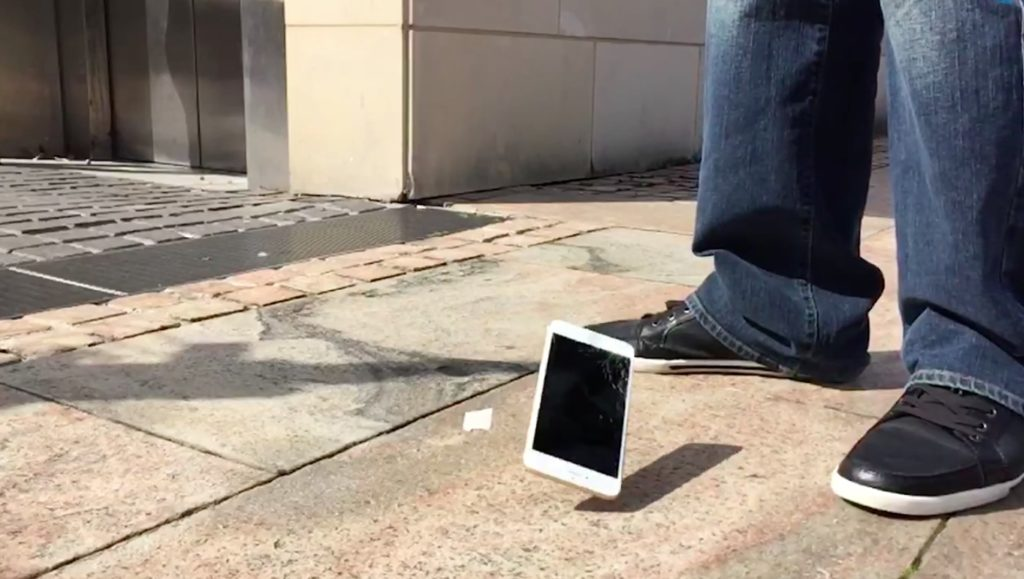 iphone dropping